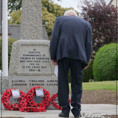 Re Dedication of War Memorial