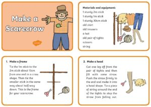 Make Your Own Scarecrow Page 001
